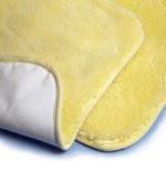 Antidecubito Vello in lana merino con fodera impermeabile